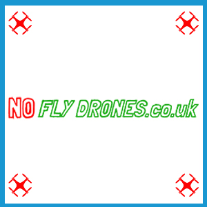 No Fly Drones Logo and Link