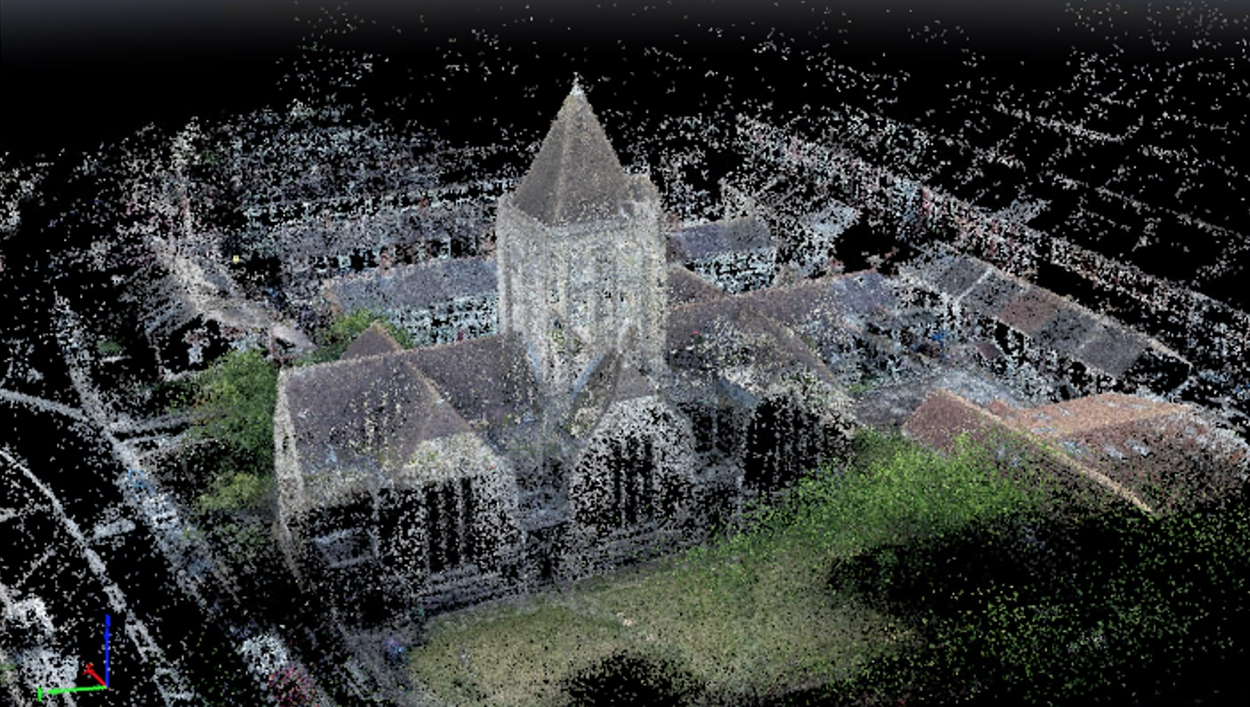 Point Cloud Photogrammetry export to CAD