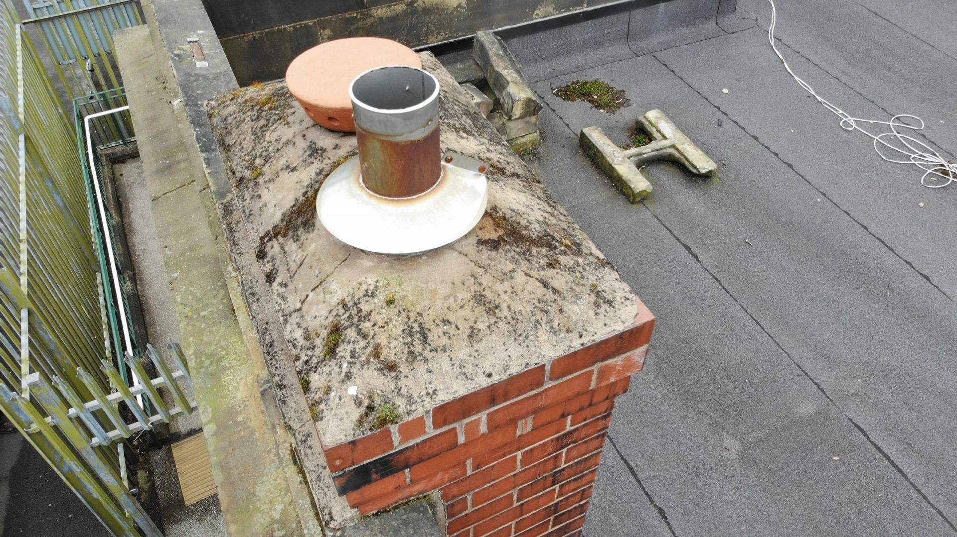 Drone Roof and Chimney Inspection North Wales