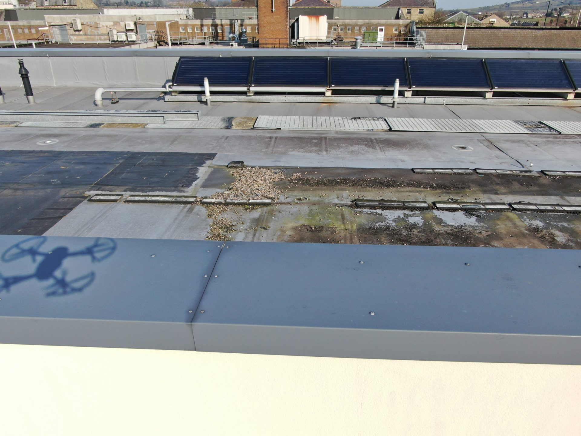 Roof Inspection by Drone Preston