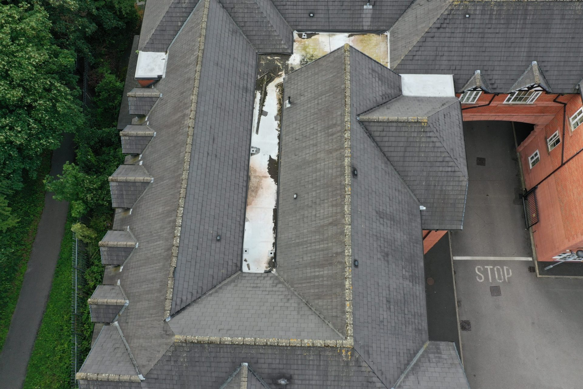Norwich Roof Inspection Apartment Block