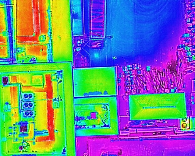 Thermography of commercial buildings
